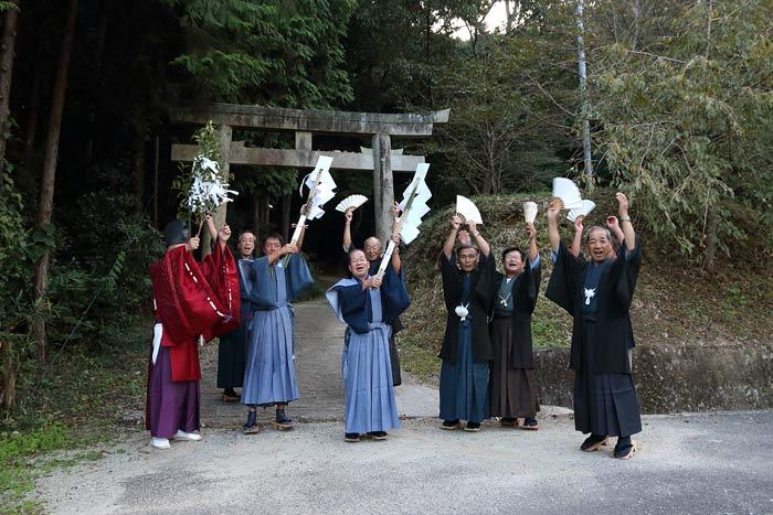 国見神社 秋祭り2