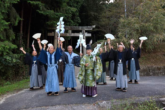 国見神社 秋祭り3