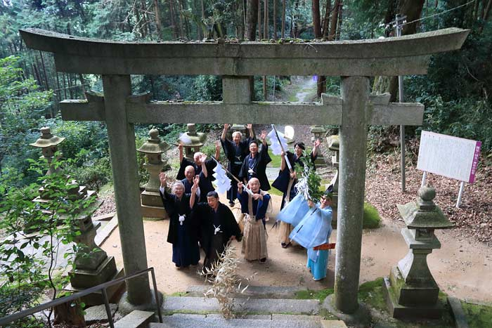 国見神社 秋祭り4