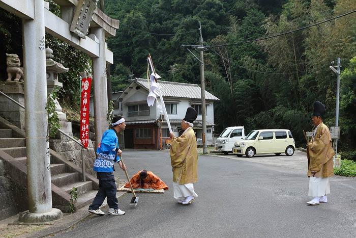 生駒山口神社 還幸祭3