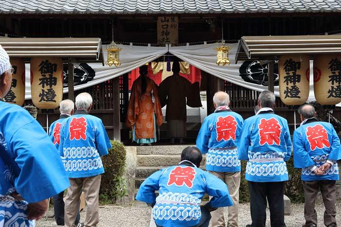 生駒山口神社 還幸祭4