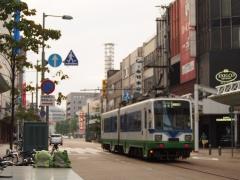 Bahnstrasse an Fukui