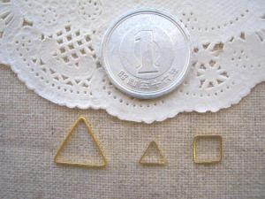 線形パーツ:三角と小さな正方形