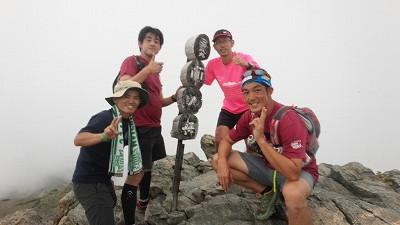 150809北岳~ (2)