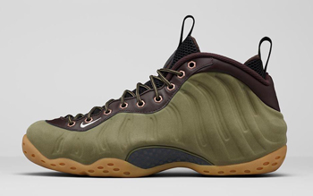 NIKE AIR FOAMPOSITE ONE 'OLIVE'
