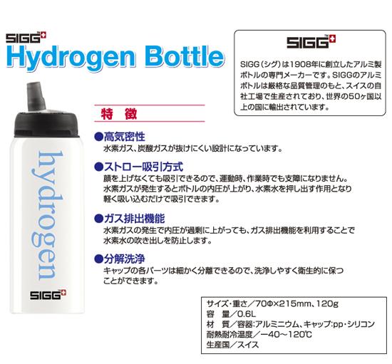 SIGG Hydrogen Bottle 水素水スティック