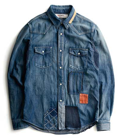 FUNDAMENTAL AGREEMENT LUXURY DENIM SHIRT 5YR WASH