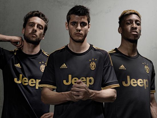 Juventus 2015-16 adidas Third
