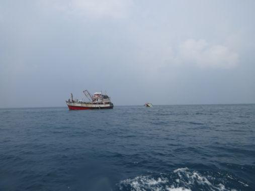 19sepシュノーケルツアー転覆船