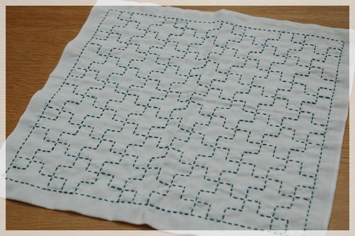 刺し子布巾