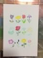 お花のポストカード1