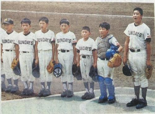 【カープ】小学6年生の中崎翔太wwwwwwwwww