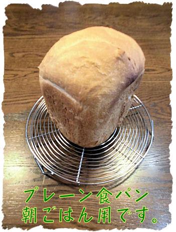 朝はパンなのだ