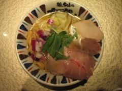 【新店】鶏Soba 座銀 にぼし店-13