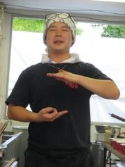 大つけ麺博2015 ~麺や 而今 「芳醇貝出汁鶏塩そば ~シビカラ肉味噌添え~」 ~-2