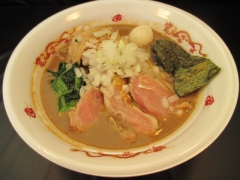 大つけ麺2015 らーめんstyle JUNK STORY ~超濃厚! 煮干と鶏のガチ味噌ラーメン~-5