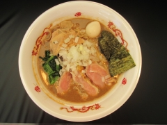 大つけ麺2015 らーめんstyle JUNK STORY ~超濃厚! 煮干と鶏のガチ味噌ラーメン~-6