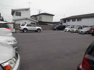 2014年10月13日 大勝軒・駐車場