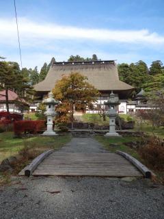 2014年11月02日 正法寺・本堂1