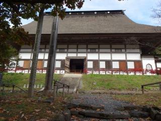 2014年11月02日 正法寺・本堂2