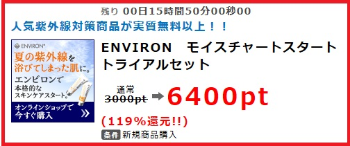 ポイントインカム・ENVIRON