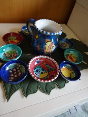 ブログ 絵皿