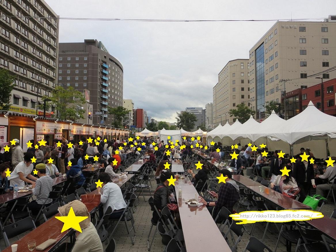 オータムフェスト2015会場お祭り広場