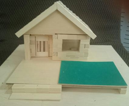 木のお家1