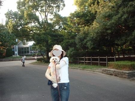 鶴舞公園で (450x338)