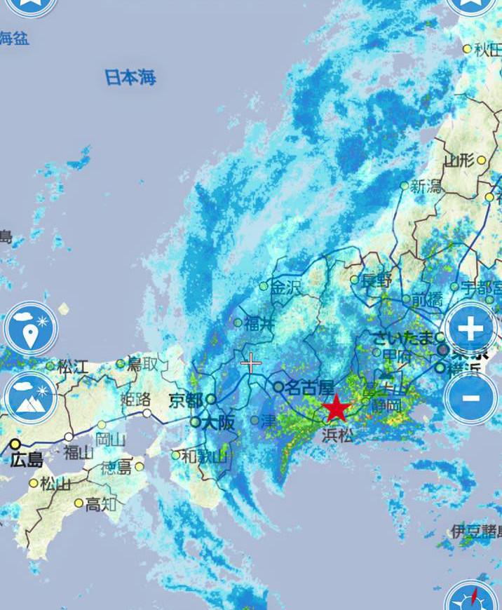 台風 直撃 記録的瞬間風速