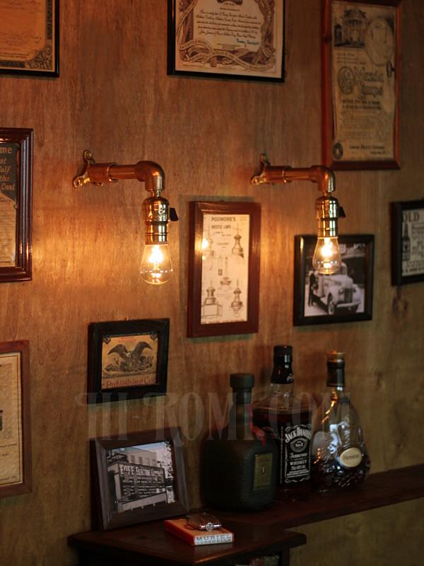 スチームパンク インダストリアル 工業系 照明 ランプ