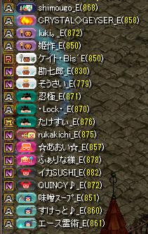 夢列車vsバンディッツ 集まり3