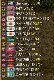 夢列車vs暁 集まり1