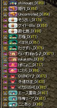 夢列車vs茶の間騎士団 集まり5