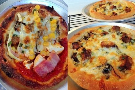 発酵種入りピザ