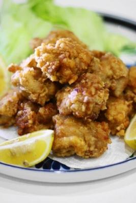 鶏もも肉のスパイス唐揚げ1