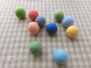 9月羊毛ボール2