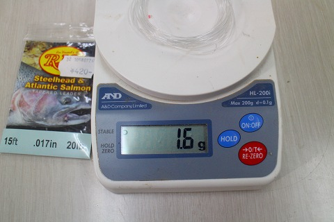 Rioリーダー4mの重量