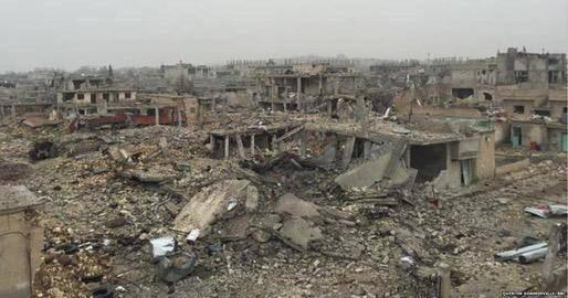 the Syrian town