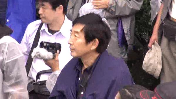 石田純一さんがまた今日も国会前に!