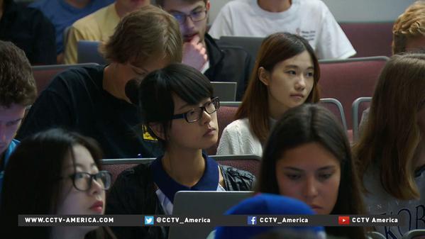 アメリカへの留学生の1/3は=中国人