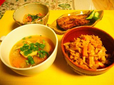 9gatu24niti夕飯
