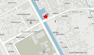 新橋亭地図