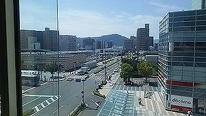 高松駅とシンボルタワー5