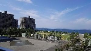 高松駅とシンボルタワー6