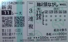 2015新潟2歳S