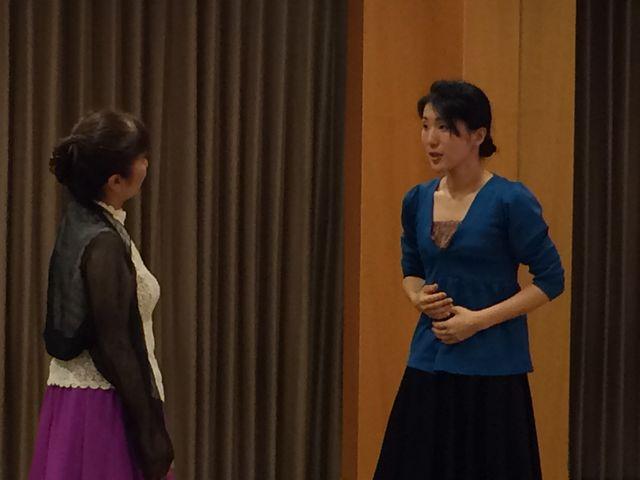 咲良舎下北沢本多劇場グループ「小劇場B1」公演「偽りの打ち明 け話」稽古風景