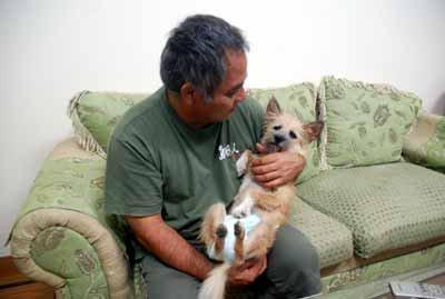 愛犬サンシン