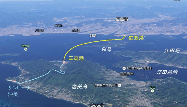 能美島map