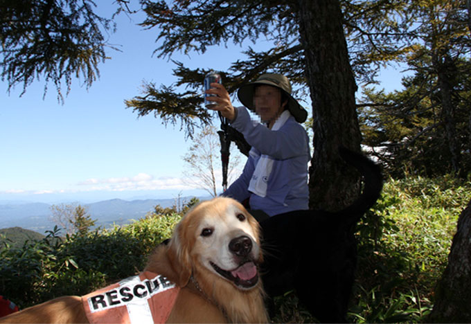 浅間山系捜索犬の旅(85)